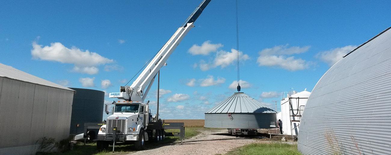 35 Ton Manitex Crane